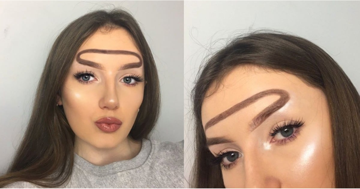 how to create a unibrow