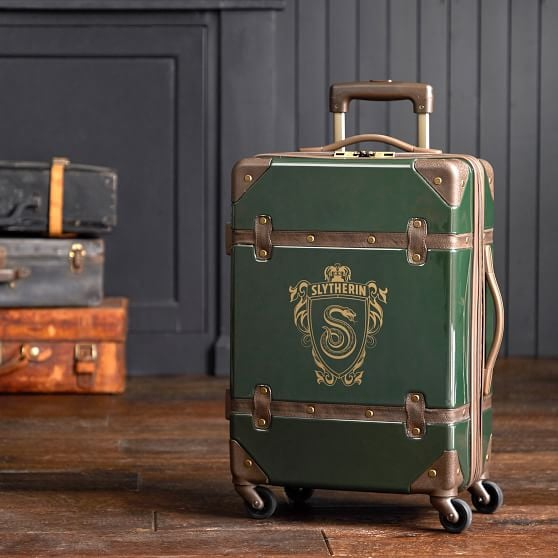 Harry Potter Hard-Sided Slytherin Carry-On Spinner