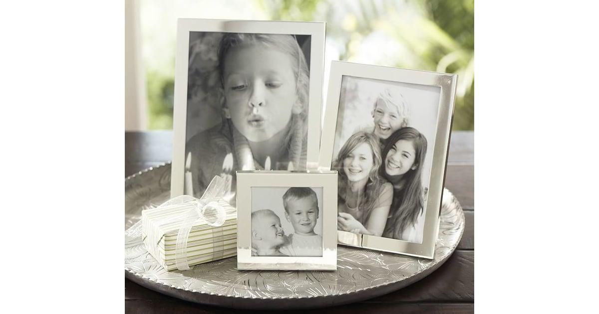Modern Silver-Plated Frames | Top Wedding Registry Items | POPSUGAR ...
