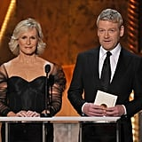 Glenn Close and Kenneth Branagh