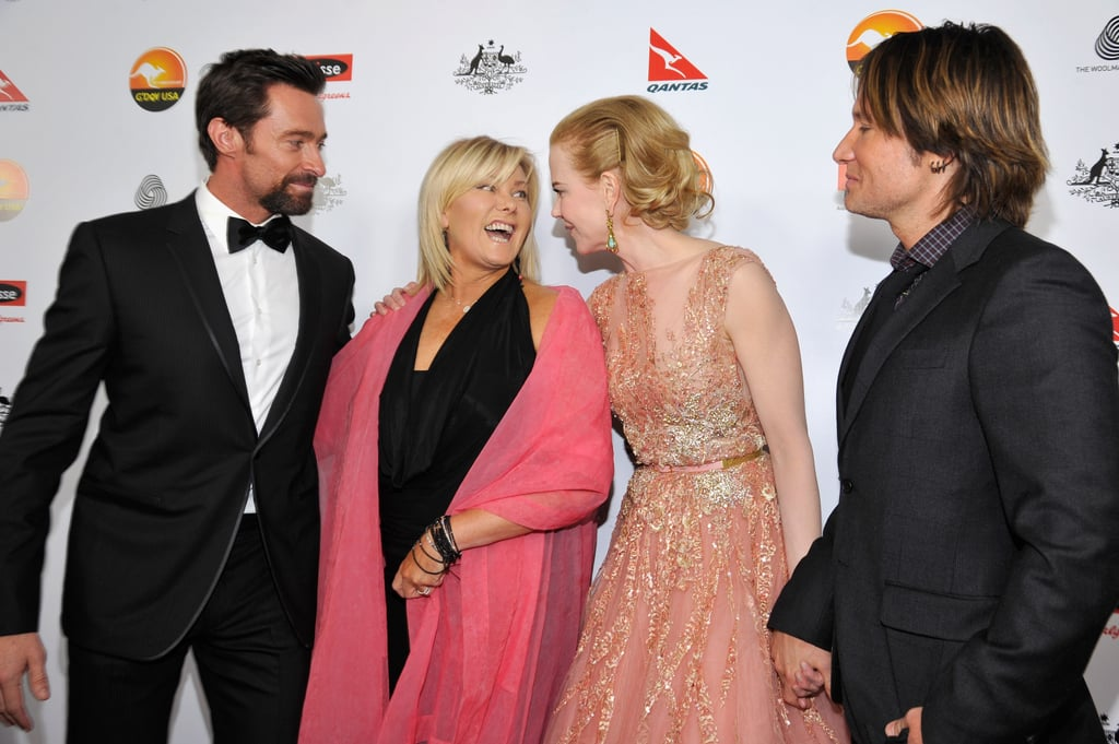 Hugh Jackman, Deborra-Lee Furness, Nicole Kidman & Keith Urban