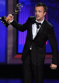 Aaron Paul Is the 2010 Emmy Winner for Outstanding Supporting Actor in a Drama 2010-08-29 18:10:00