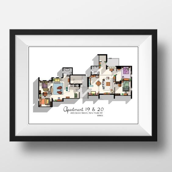 Floor Plan Print ($20)
