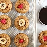 Banana Pancakes in a Muffin Tin