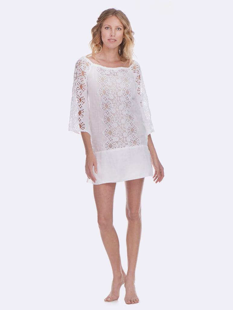 Temptation Positano White Monreale Dress ($547)