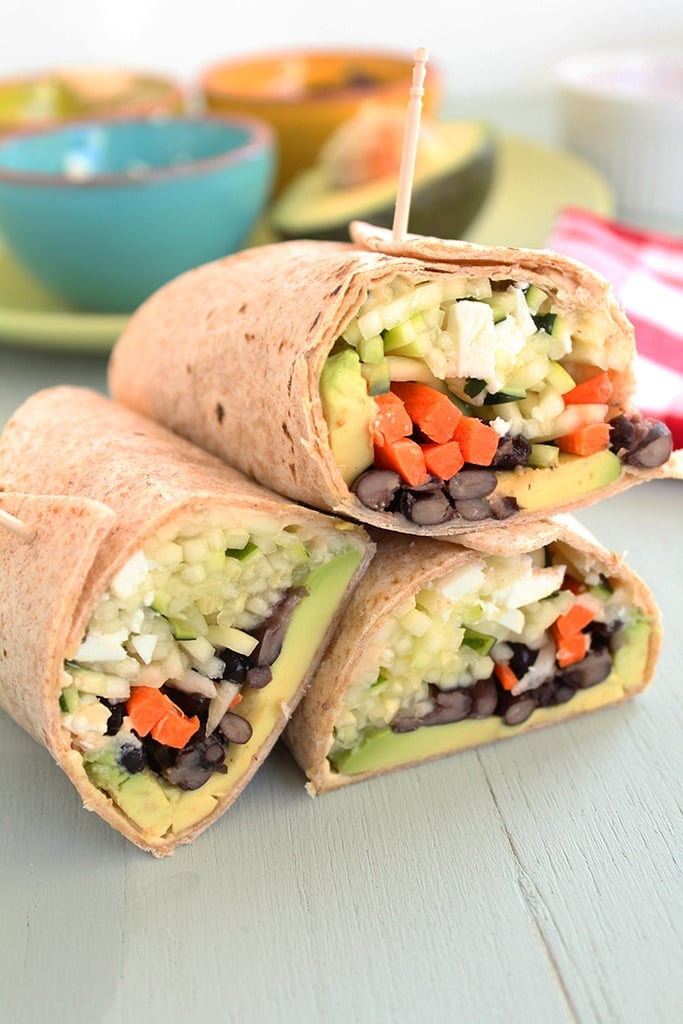 Easy Wraps to Make For Kids' Lunchboxes