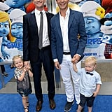 Neil Patrick Harris and David Burtka brought their twins, Harper and Gideon.