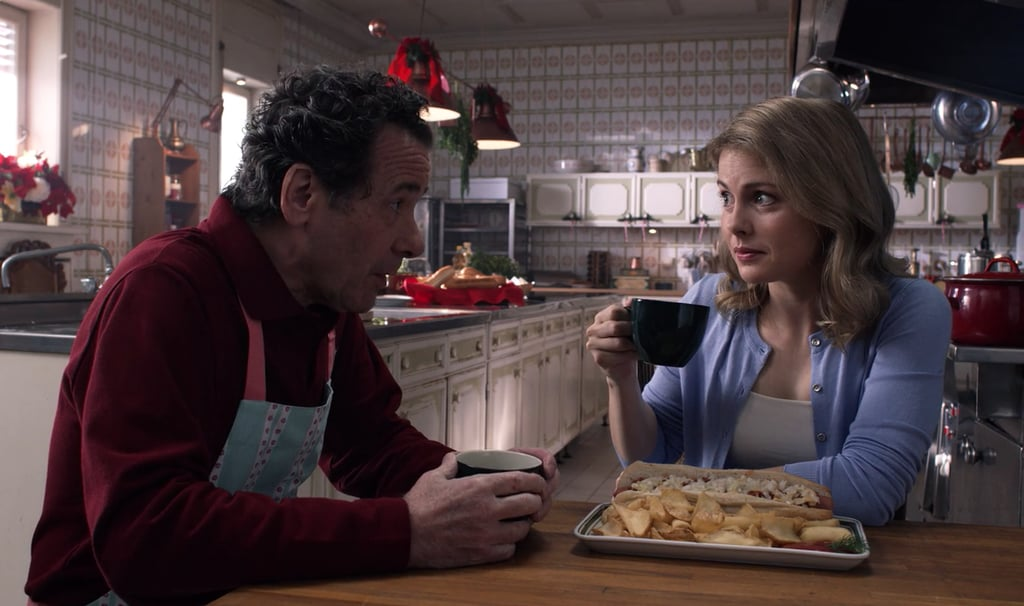 Speaking of Amber's dad and his diner, he continues to make the most | A Christmas Prince The ...