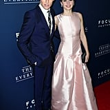 Eddie Redmayne and Felicity Jones were a gorgeous pair at the LA screening of The Theory of Everything on Tuesday.