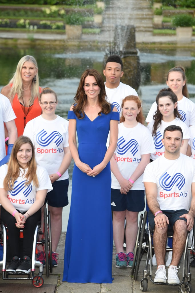 Kate Middleton Meets SportsAid Athletes June 2016