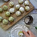 Matcha Mexican Wedding Cookies