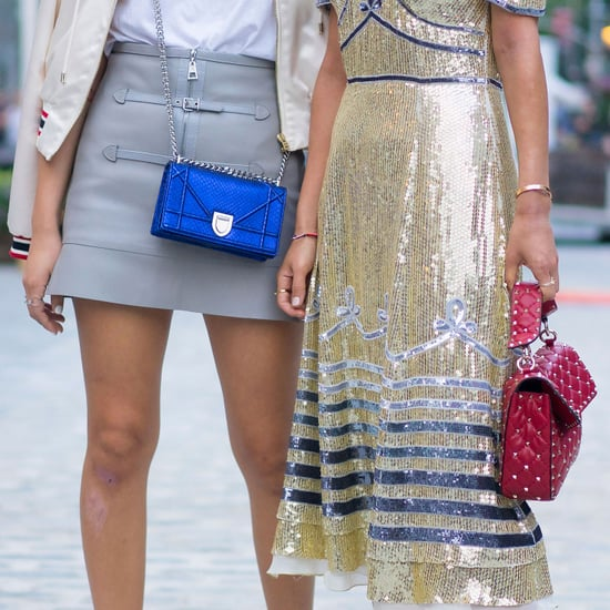 Street Style Shoes and Bags at Fashion Week Spring 2017