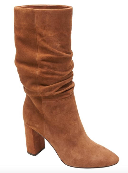 High-Heel Slouchy Boot