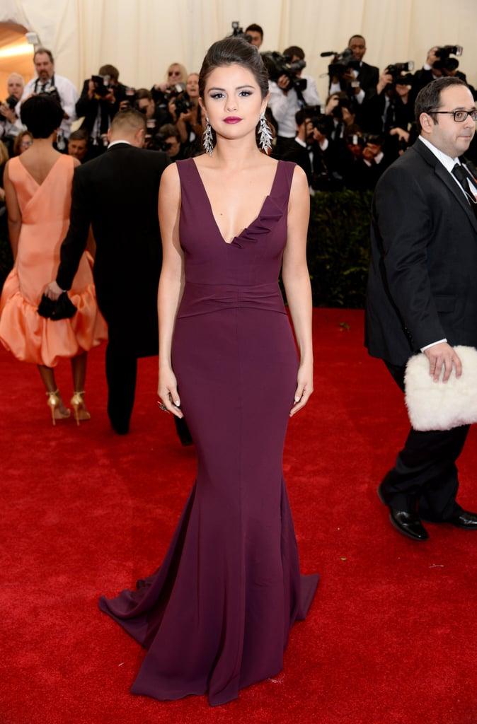 Selena Gomez Wearing Diane von Furstenberg in 2014