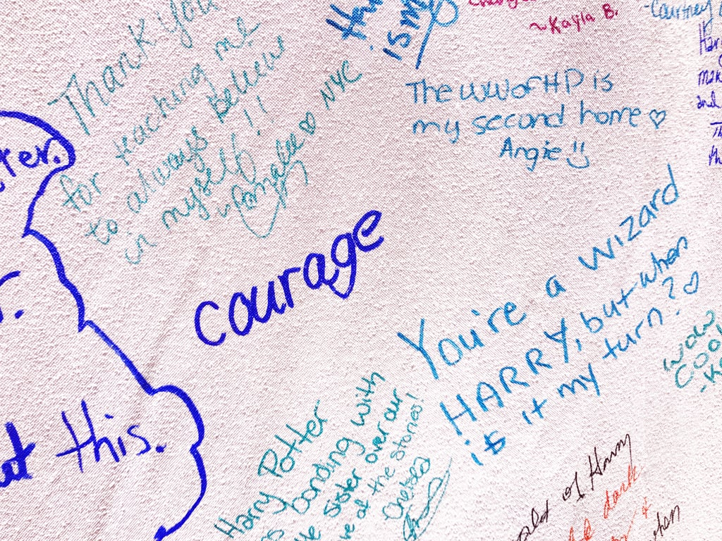 """""""Courage."""""""