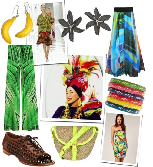 Shop For Tropical Pieces Inspired by Prada's Bananas and Carmen Miranda