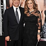 Tom Hanks and Rita Hayworth were the picture of marital bliss.