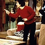 Monica's Red Fitted Sweater