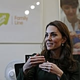 Kate Middleton Launches FamilyLine Parenting Service