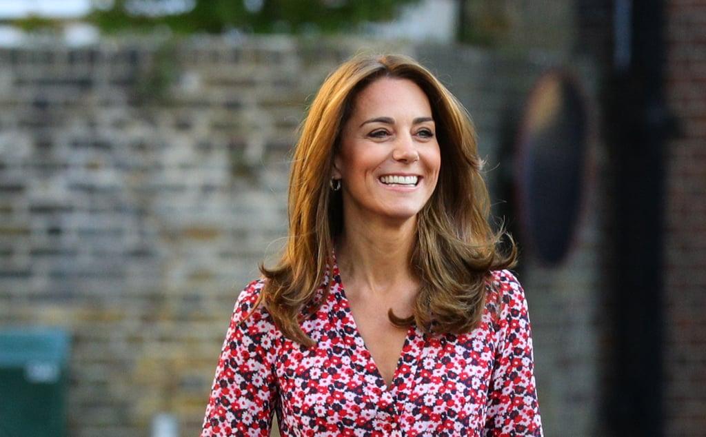 Kate Middleton's Golden Hair Color, 2019