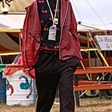 Cara Delevingne at Glastonbury 2017