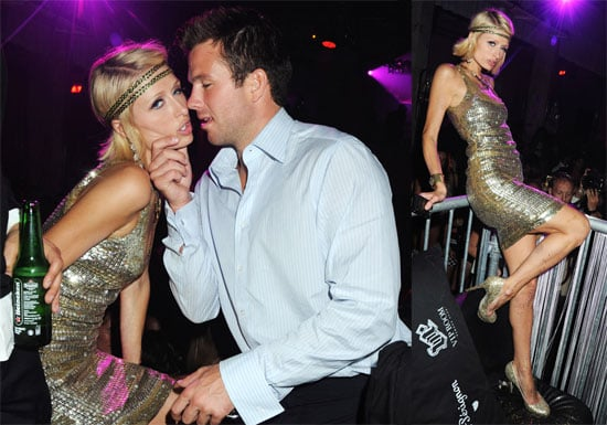 Photos of Paris Hilton and Doug Reinhardt Kissing at Cannes VIP Party