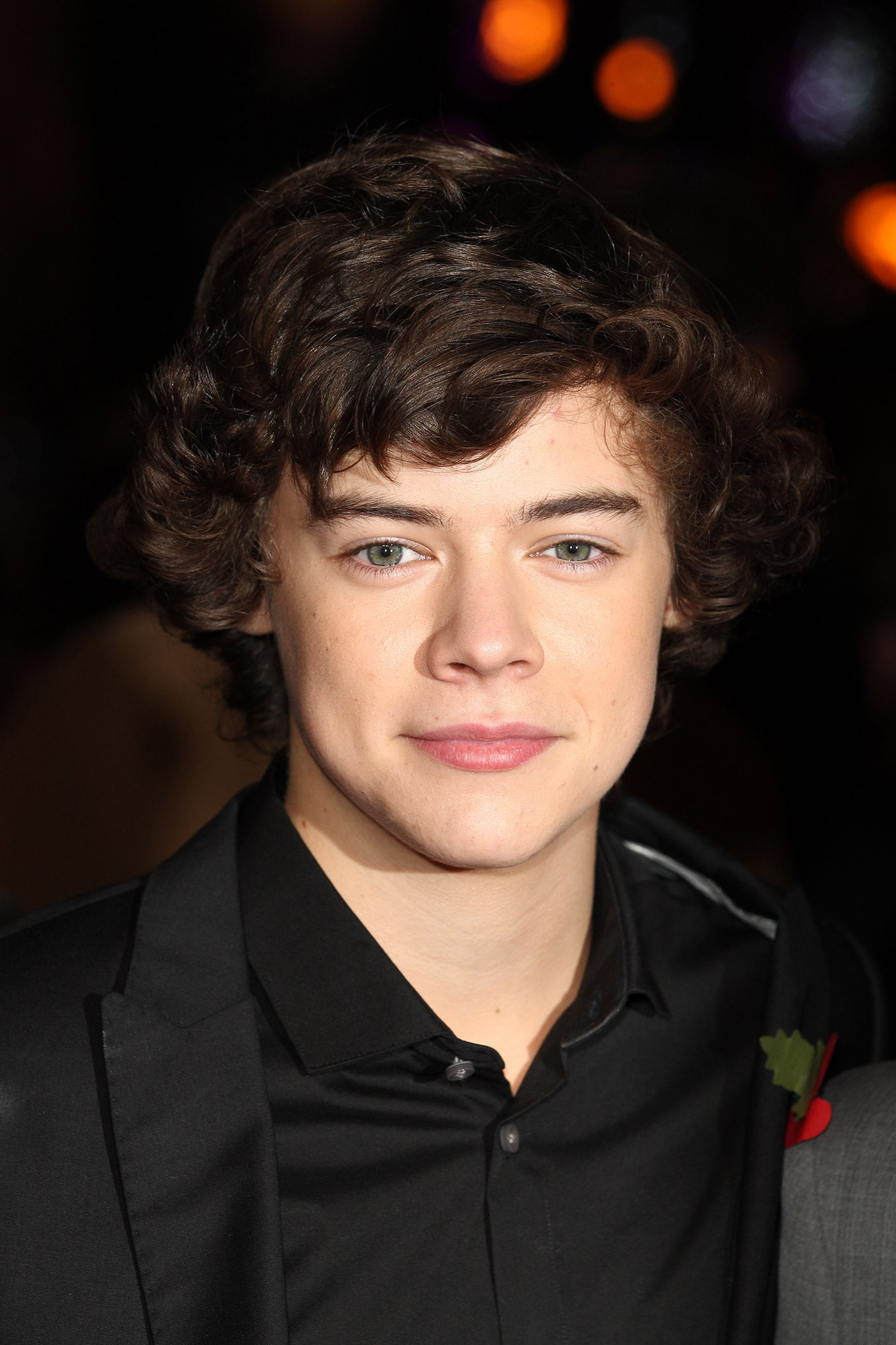 Harry Styles attends the world premiere of Harry Potter and The Deathly Hallows at Odeon Leicester Square on November 11, 2010 in London, England.