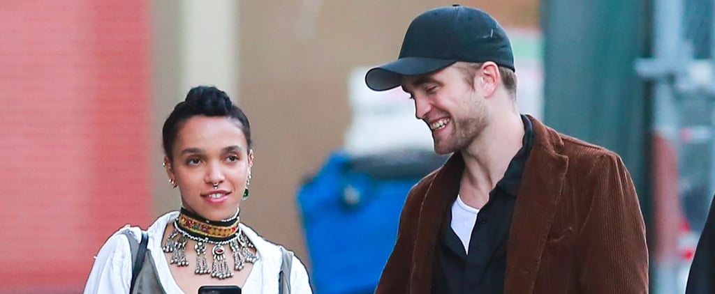 Robert Pattinson and FKA Twigs on His Birthday May 2017