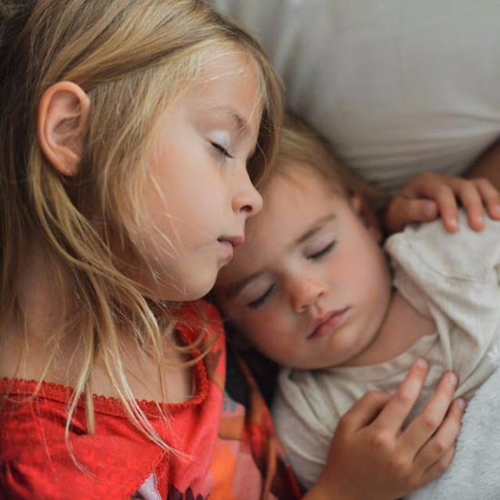 Mom Watches Daughter Rock Baby Sister to Sleep