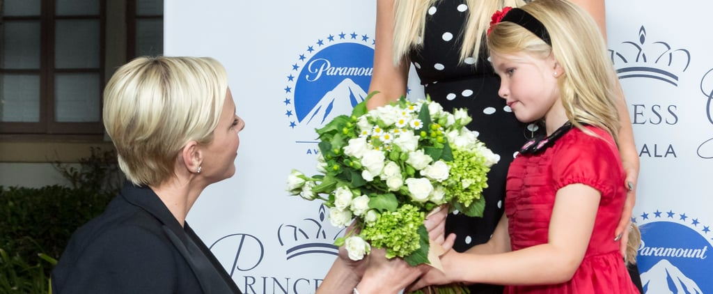 Jessica Simpson's Daughter Has a Real-Life Princess Moment With Charlene of Monaco