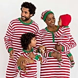 Hanna Andersson Very Merry Stripes in Red Collection ($12-$64)