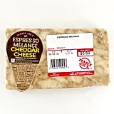 Espresso Melange Cheddar Cheese ($10/pound)