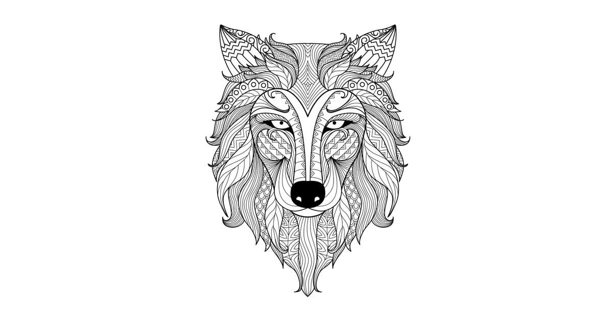 Get the coloring page: Wolf | Free Coloring Pages For ...
