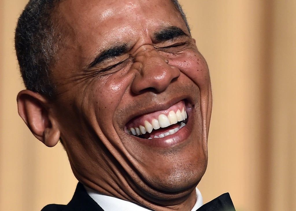 This smile.   Best Photos of Obama During His Presidency ...  Reaction