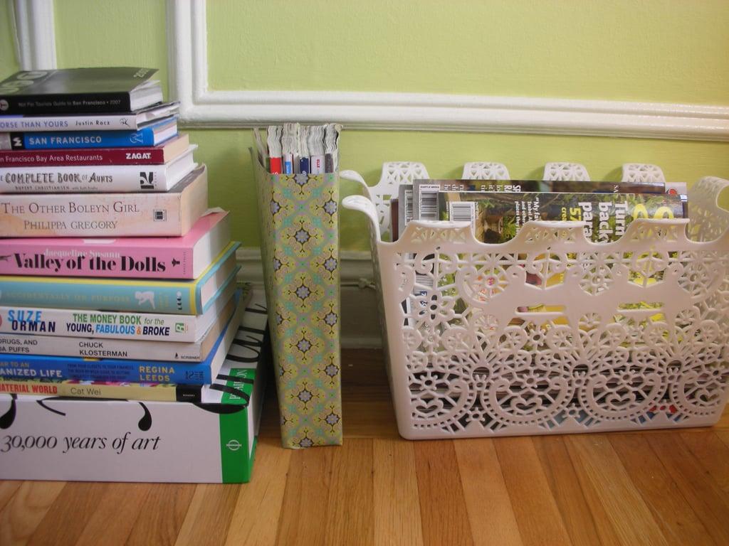 Diy cereal box magazine holder popsugar home for Diy cereal box