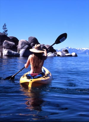 Work Your Upper Body: Kayaking