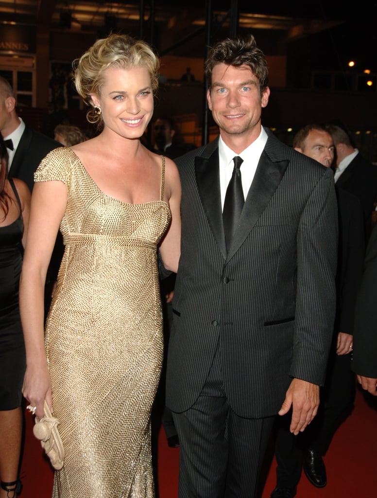 Rebecca Romijn and Jerry O'Connell in 2006