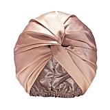 Slip Silk Turban in Pink