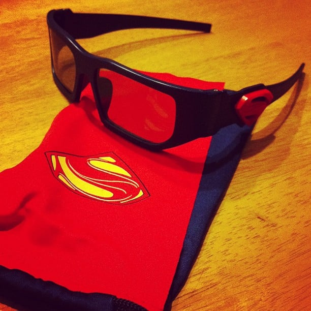 Because even 3D glasses deserve a Superman cape sometimes.