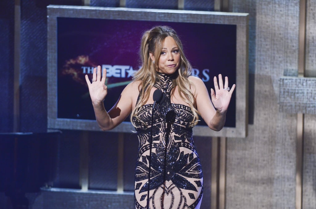 Mariah Accepts a BET Award From Nick and Her Tuxedo-Wearing Son While Michelle Williams Talks Blue Ivy Carter