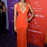 Danielle Herrington at the 2019 Diamond Ball
