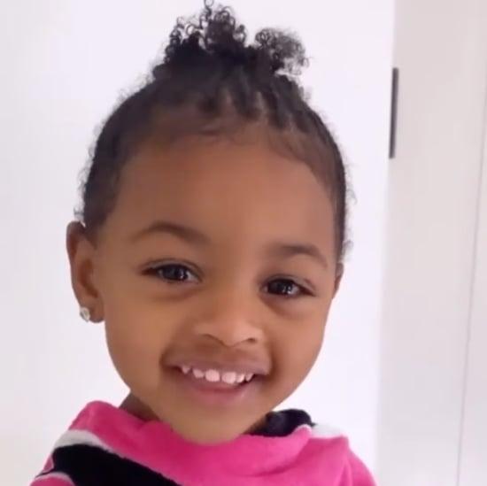 "Cardi B's Daughter Kulture Singing Along to Rihanna's ""Work"""