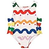 Stella McCartney Kids Wiggle-Print Lisa Swimsuit