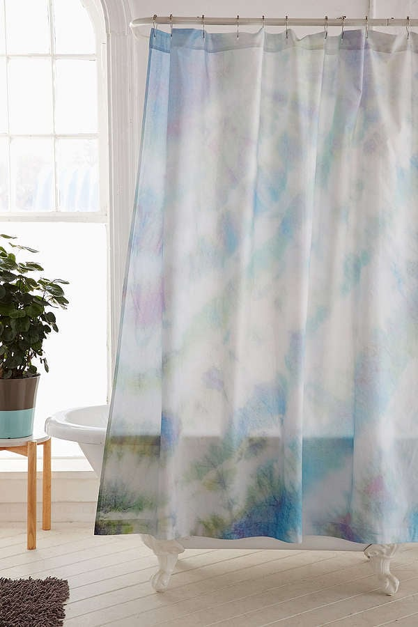 Soft Dyed Shower Curtain
