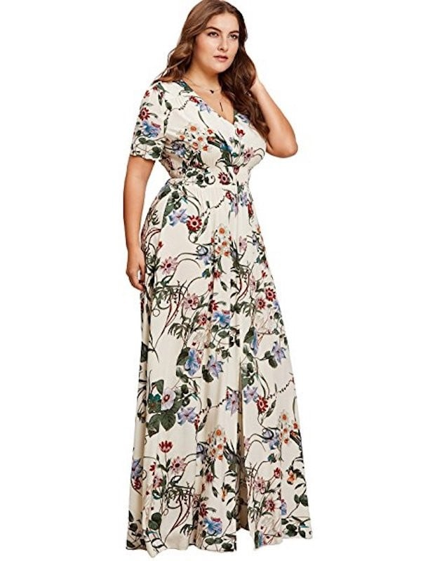 Fashion Plus Size Dresses 2018