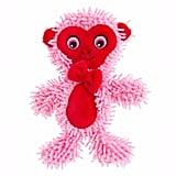 Top Paw Valentine's Flattie Monkey Dog Toy ($4)