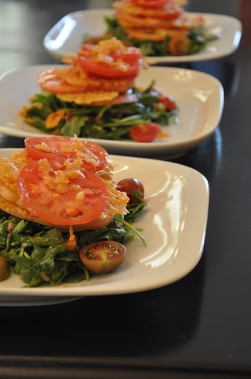 Photos of Tomato, Parmesan Crisps & Herb Salad