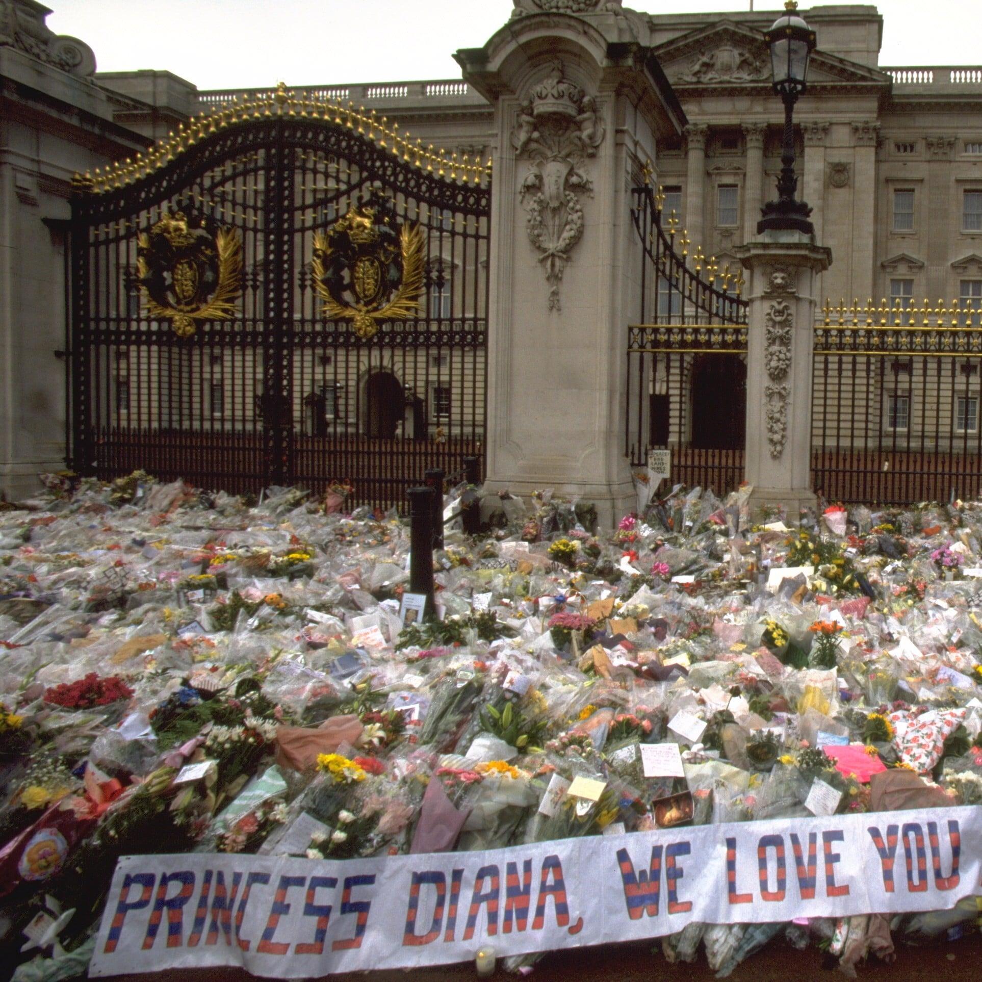 Princess Diana Public Funeral Pictures Popsugar Celebrity