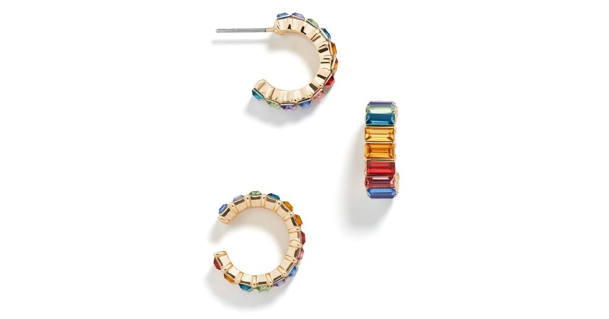 BaubleBar Alidia Ear Cuff & Hoop Earring Set | Nordstrom