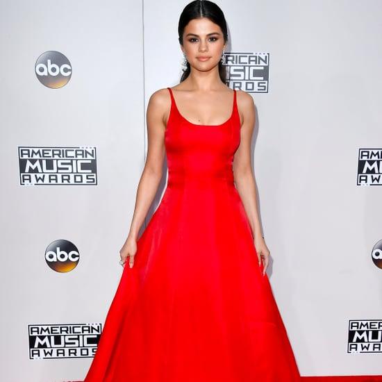 Selena Gomez at the 2016 American Music Awards